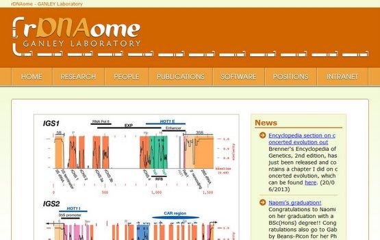 rDNAome GANLEY Laboratory